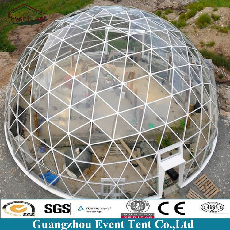 Dome Home Kits: Outdoor Design UV Resistant Clear Cover Prefab Dome Home