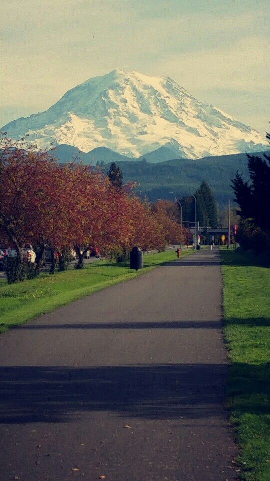 Mt Rainer Orting Wa Orting Washington Orting Tacoma Washington