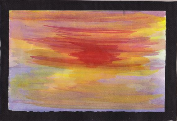 Gulf Coast Sunset Original Artwork Painting Art For Sale