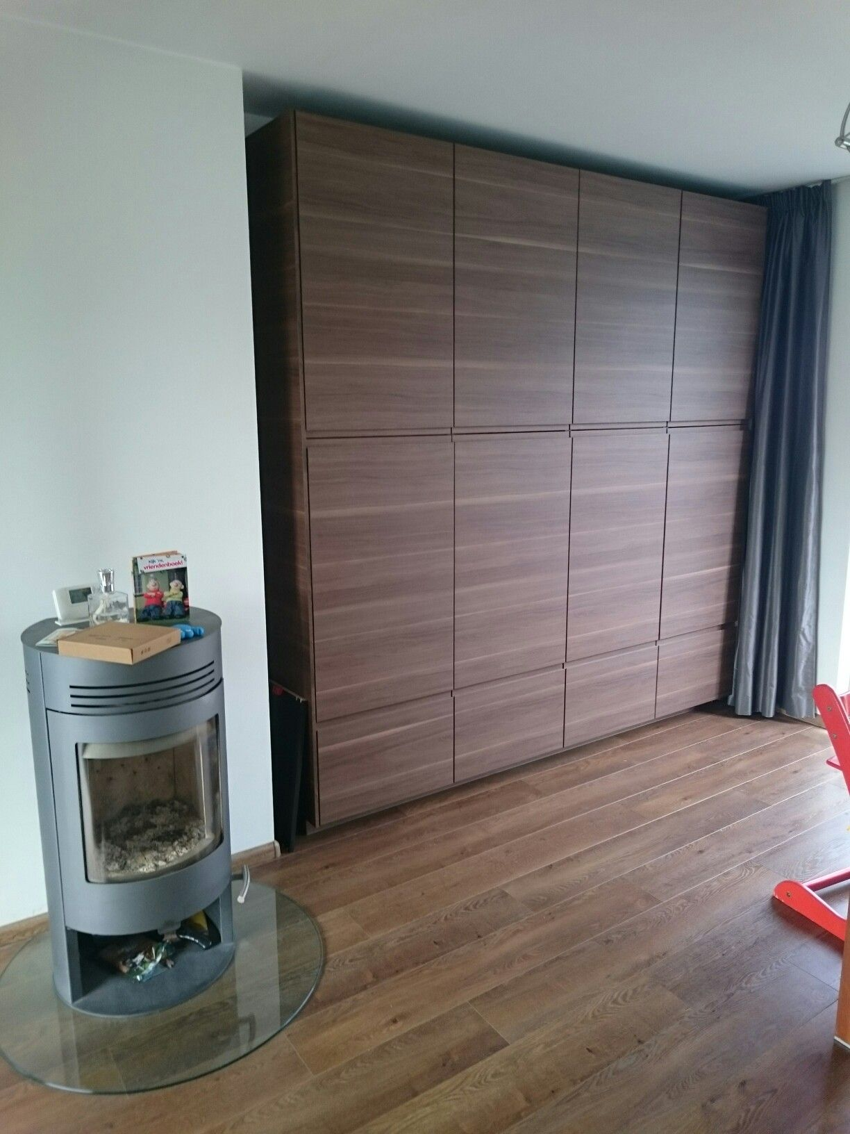 Souvent Voxtorp ikea kastenwand walnut | Keuken | Pinterest | Living rooms  LY33