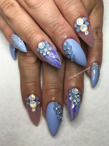 periwinkle prettybellissimanails from nail art gallery