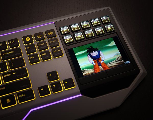 Star Wars Gaming Keyboard With LCD Touchpad http://coolpile.com/gadgets-magazine/star-wars-gaming-keyboard-with-lcd-touchpad/ via CoolPile.com $239  Gaming, Keyboard, Mac, PC, PC Accessories, Star Wars, ThinkGeek.com, USB
