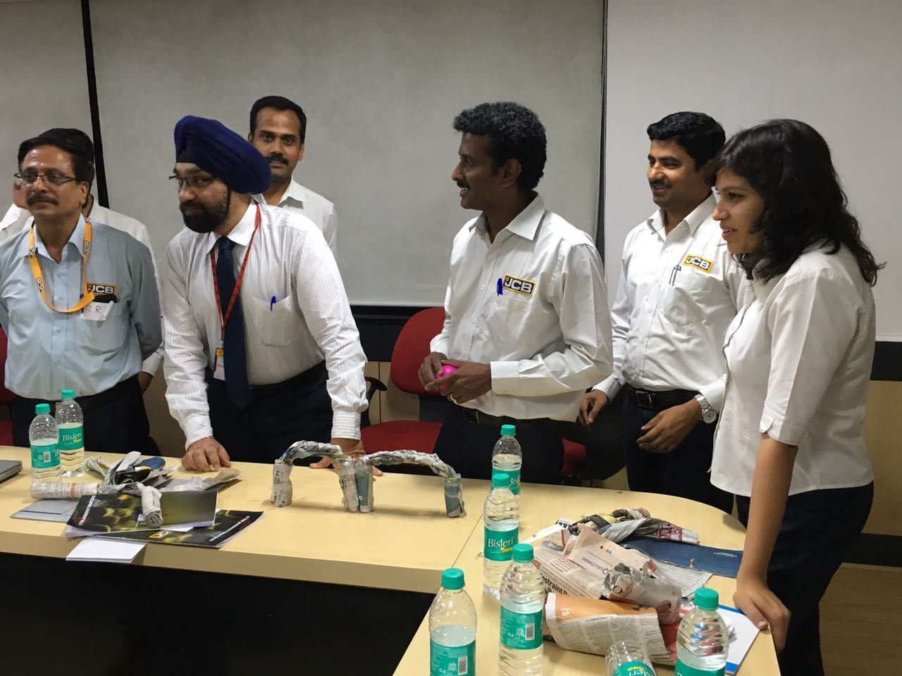 """Training at JCB on """"Building Leadership"""" l2lacademy"""