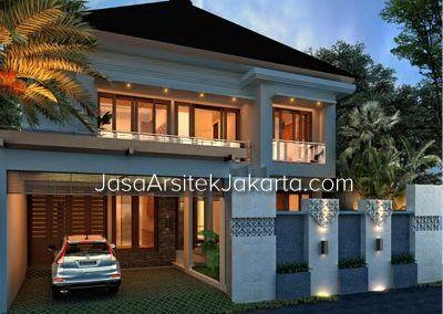 desain rumah bp arsyad luas 240m2 di sulawesi selatan