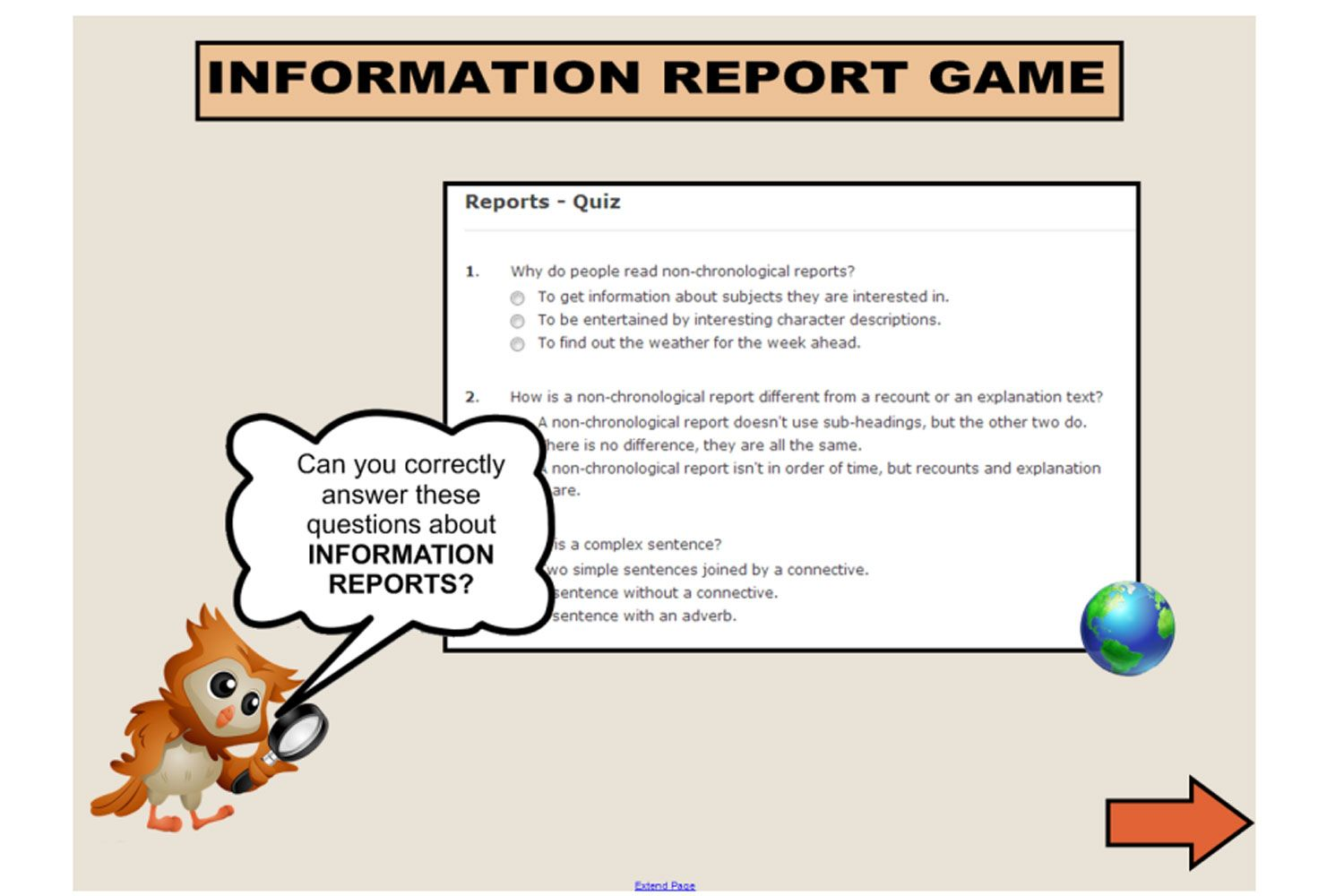 Monitor Your Students Understanding Of The Structure And
