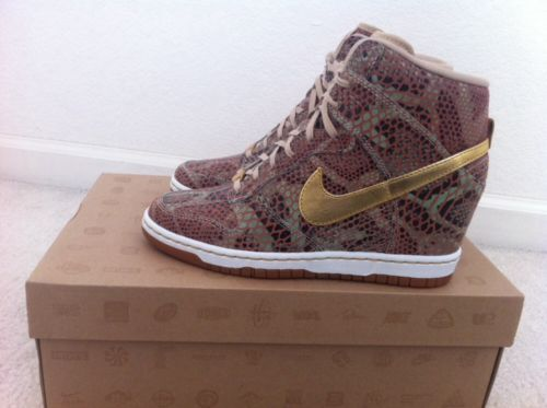 on sale 47d8a 5ba97 ... Nike Wmns Dunk Sky Hi Yots QS Size 7 5 Year of The Snake Wedge Air .