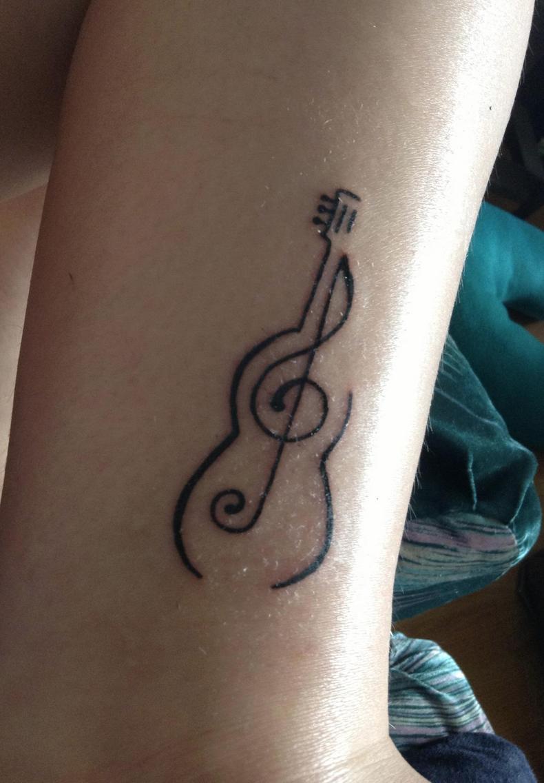 Image 24 Tattoos Guitar Tattoo Small Tattoos For Guys Arm