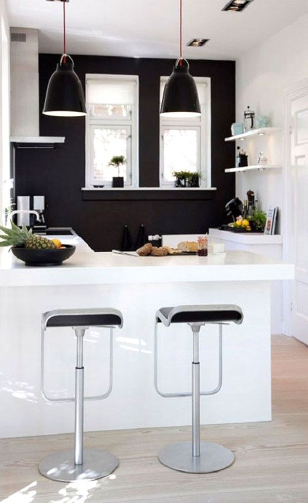 Idea design cucina bianca e nero, le foto | Pinterest | Condos and ...