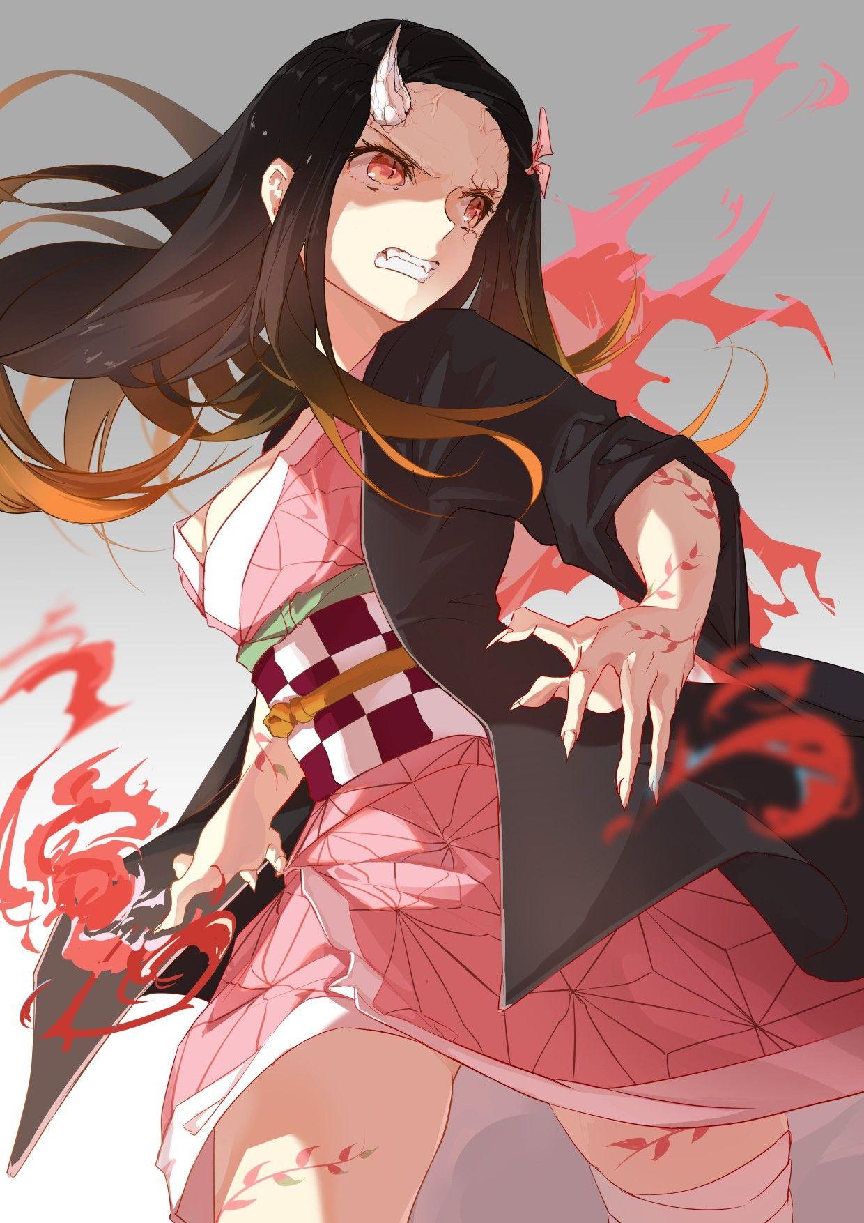 قاتل الشياطين Anime demon, Slayer anime