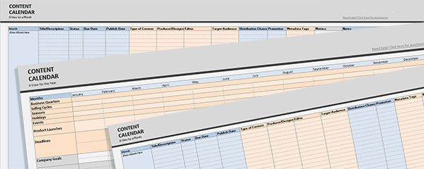 Developing Your Content Editorial Calendar for 2013 Editorial - editorial calendar template