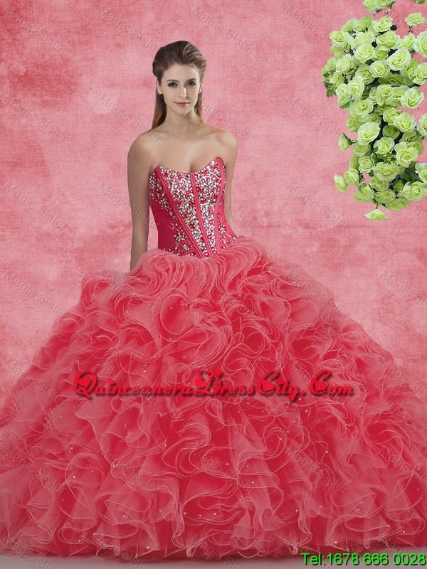 quinceaneradresscity.com offers cheap New Style Strapless Beaded and ...