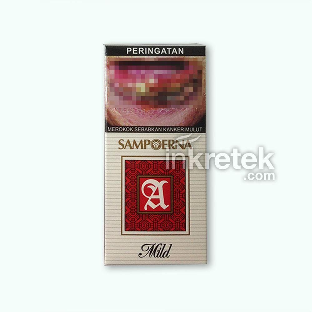 Sampoerna A Mild 12s Kretek Small Pack In 2018 U