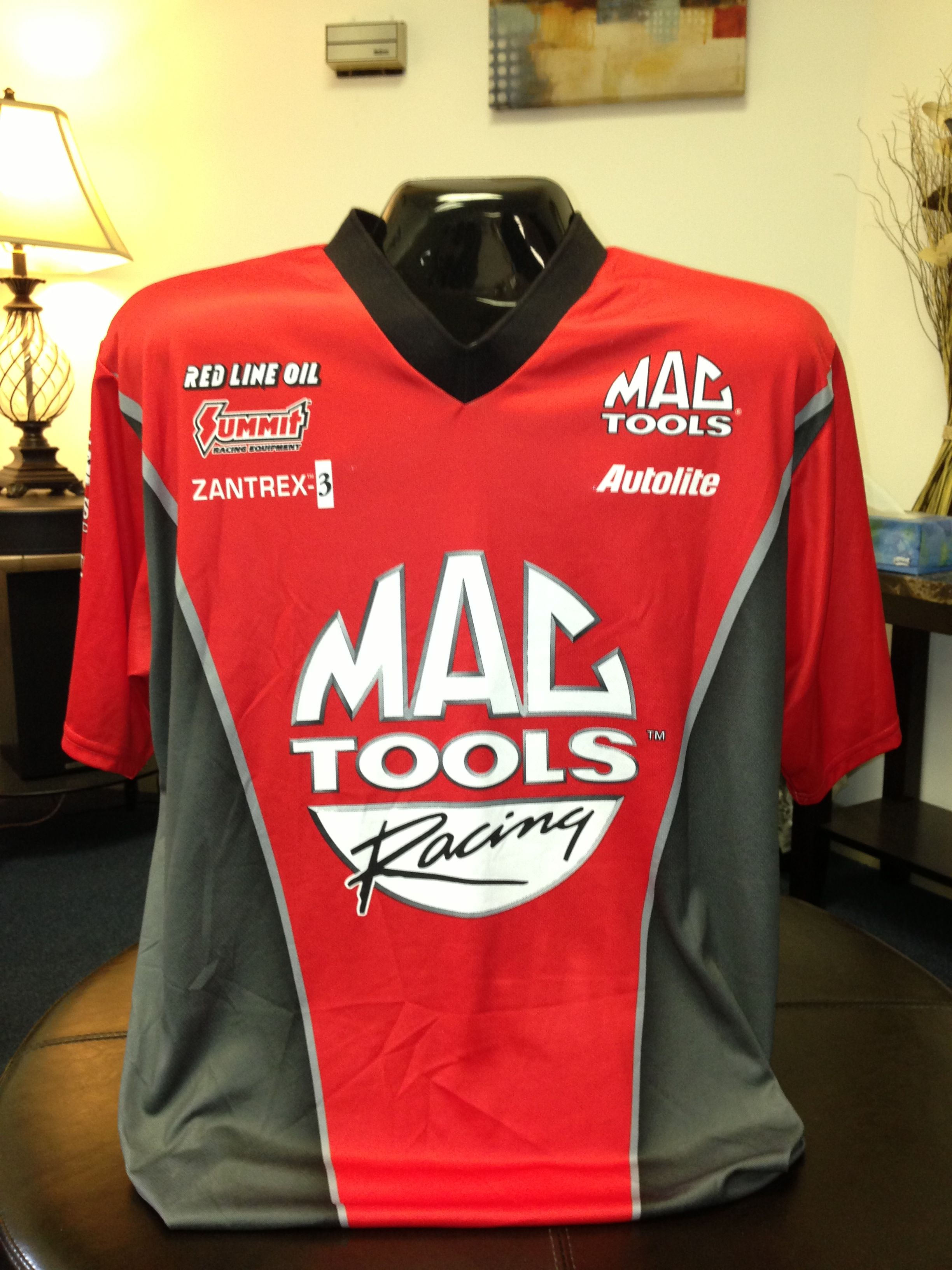 Sublimated Pit Crew Shirt Custom Pit Crew Shirts For Racing Pit