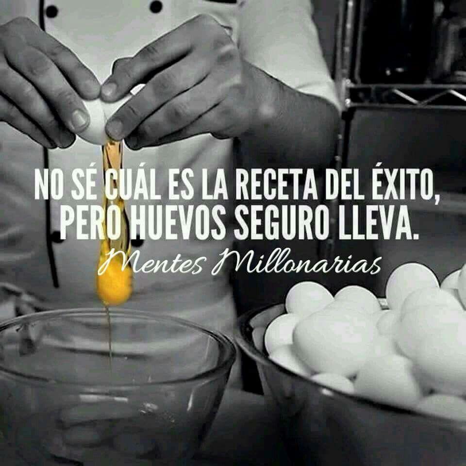 Echarle Muchos Huevos Es El Ingrediente Necesario Para