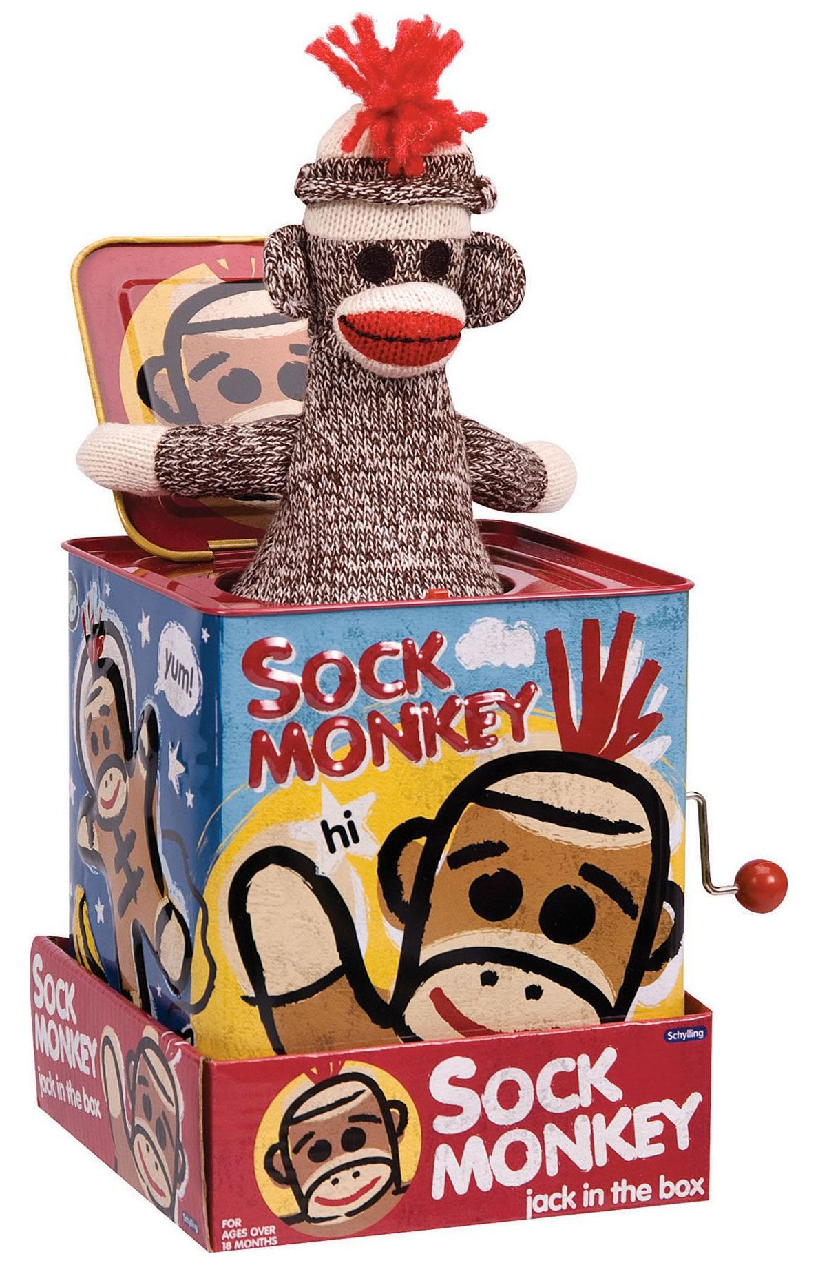 A Sock Monkey Jack In The Box Is Double Evilness