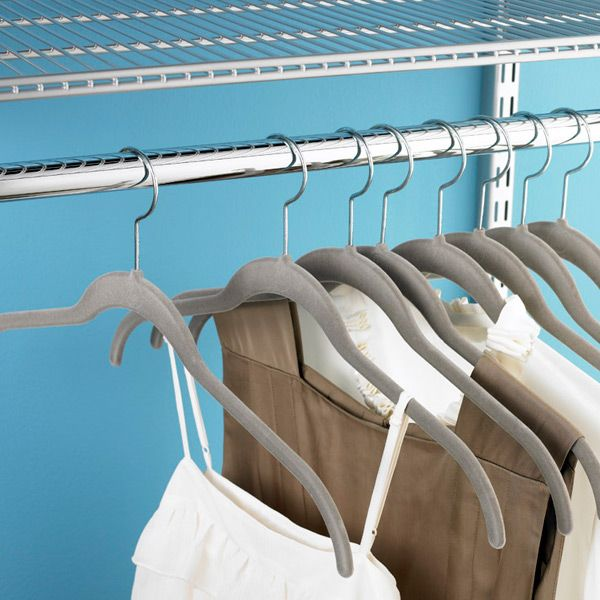 Joy Mangano Platinum Huggable Hangers | The Organized Closet ...