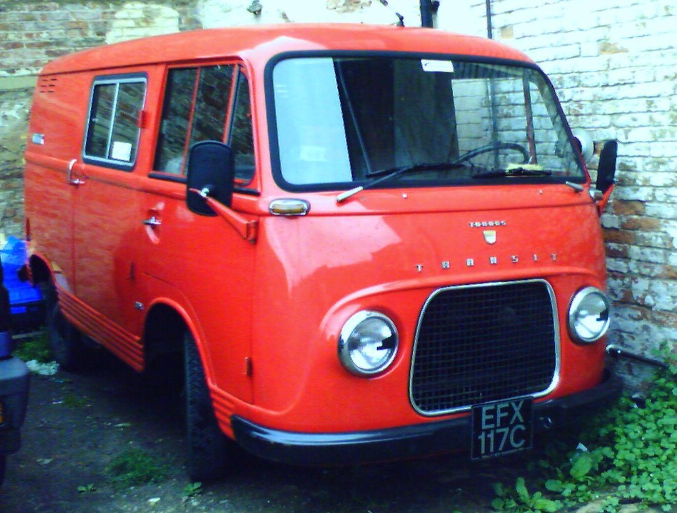 1965 ford taunus trans t feka