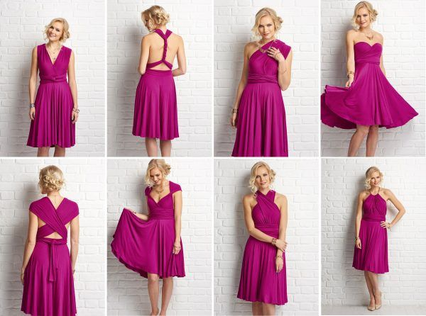15f7c6b7dff4 DIY bridesmaids dress  6 ways
