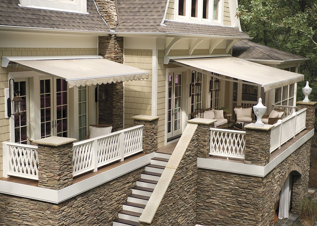 Retractable Deck Awnings are the perfect way to extend the ...