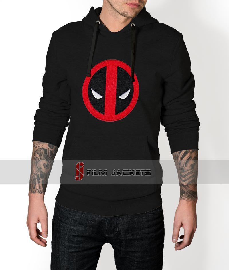Black Deadpool Pullover Hoodie | Valentines Day Gift Ideas | Pinterest