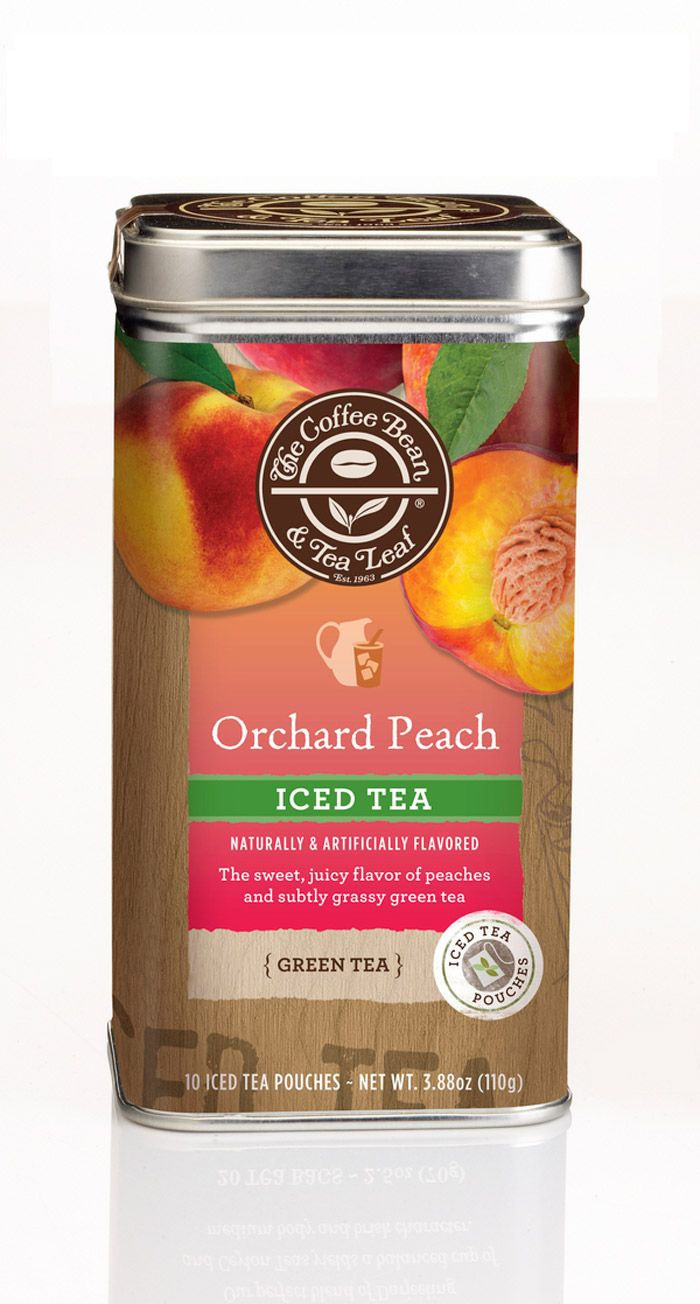 Concept Limited Edition Tea Packaging For The Coffee Bean Tea Leaf Tea Packaging Coffee Beans Peach Tea