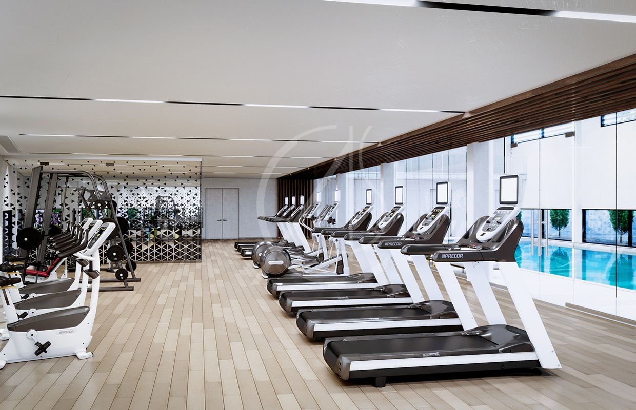 Ladies Modern Fitness Center With Images Gym Interior Floor
