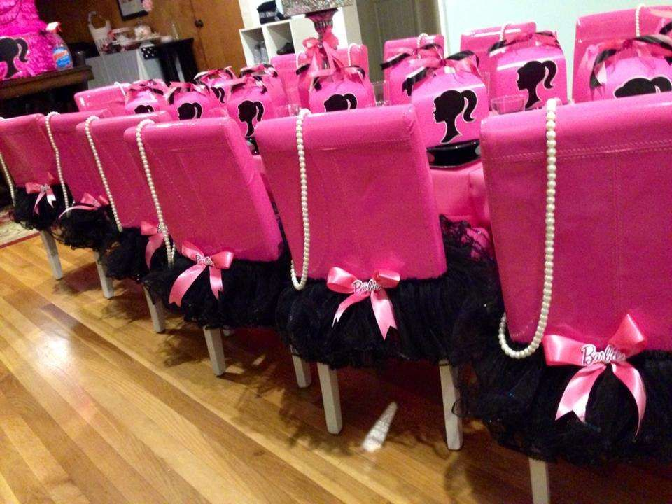 Barbie silhouette Birthday Party Ideas | Photo 3 of 13 | Catch My Party