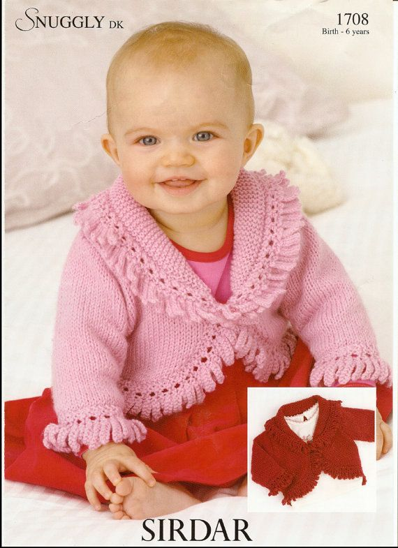 df373218e5f3 knitting pattern forbaby stunning fancy edged bloreo birth to 6 ...
