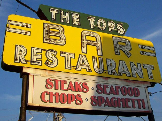 The Tops Bar Restaurant - Harrisburg, PA. | Love neon sign ...