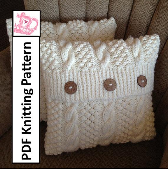 Best 25+ Knitted pillows ideas on Pinterest