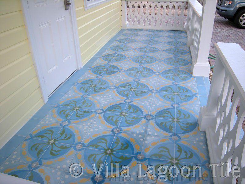 "California Malibu Tile Reproduction ~ Hannini B 6/""x6/"""