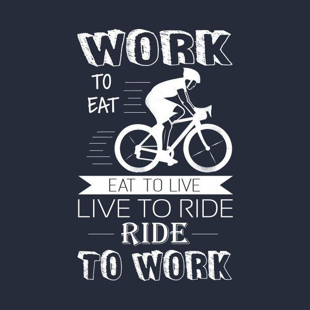 Check Out This Awesome Ride Bike To Work Design On Teepublic Sepeda Gambar Desain