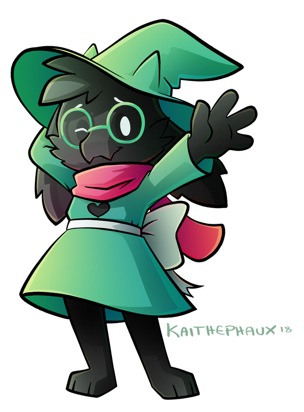 Drew this little cutie for a Discord bud He's a darn