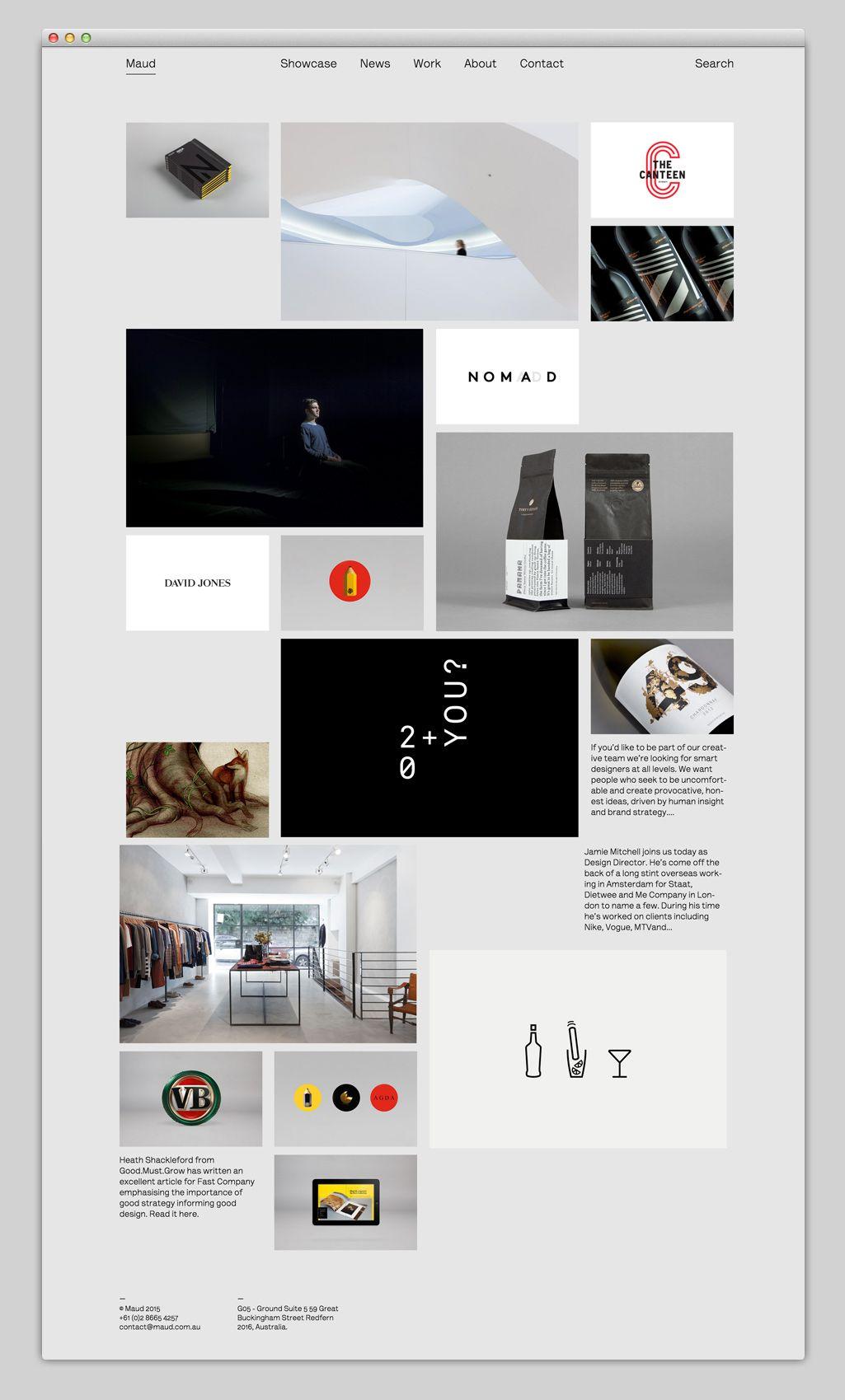 Websites we love u showcasing the best in web design web u ui