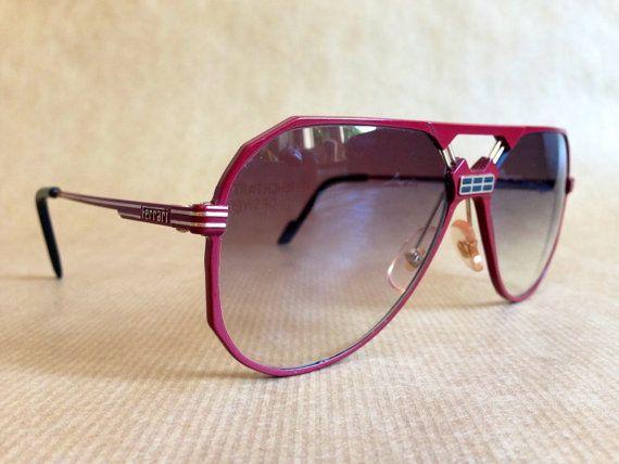 Ferrari F23 Vintage Sunglasses New Old Stock with Ferrari