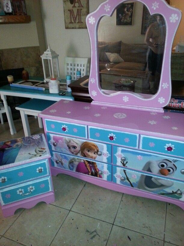 Disney Frozen Bedroom, Frozen Bedroom Furniture