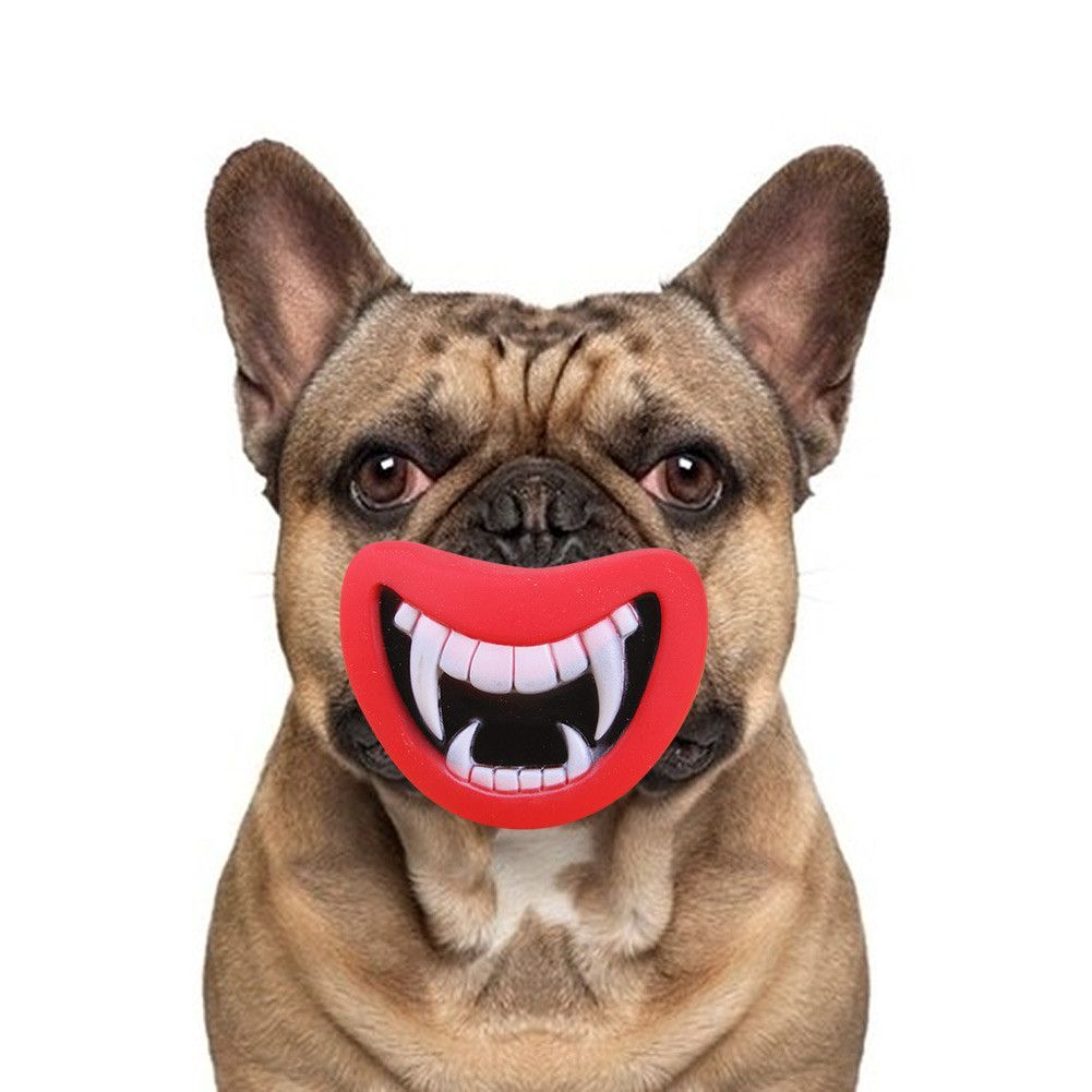 Pet Lips Dog Squeaky Chew Toy Toy Puppies Smile Pets Christmas