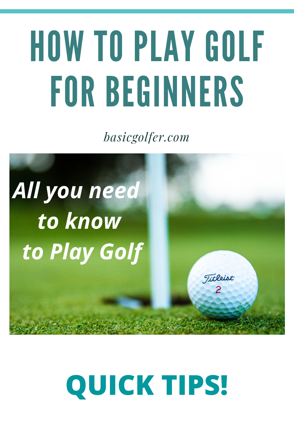 How To Play Golf For Beginners Play Golf Golf Golf Clubs For Beginners