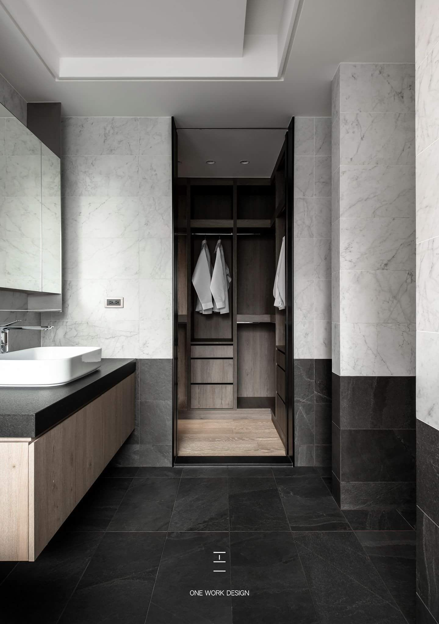 Pin by Eris Chong on 工一设计 (吉光片羽) | Contemporary bathrooms ...