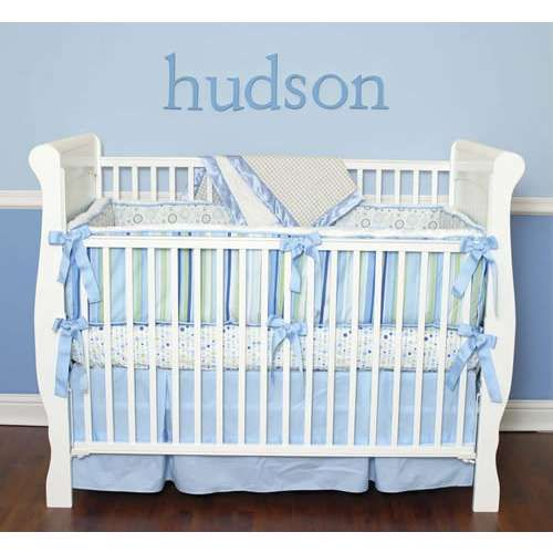 pin boys baby boy darling detail bedding image thisnext crib bed for