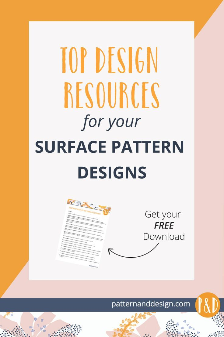 Top Design Resources For Your Surface Pattern Designs Surface
