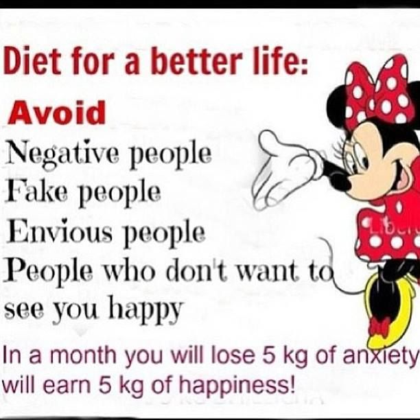 Diet for a better life....So true!