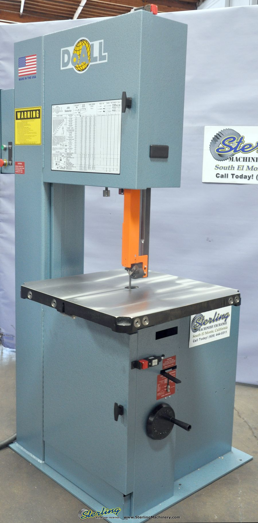 20 brand new doall vertical contour bandsaw mdl 2013 v high low transmission made in the u s a sm2013v [ 900 x 1826 Pixel ]