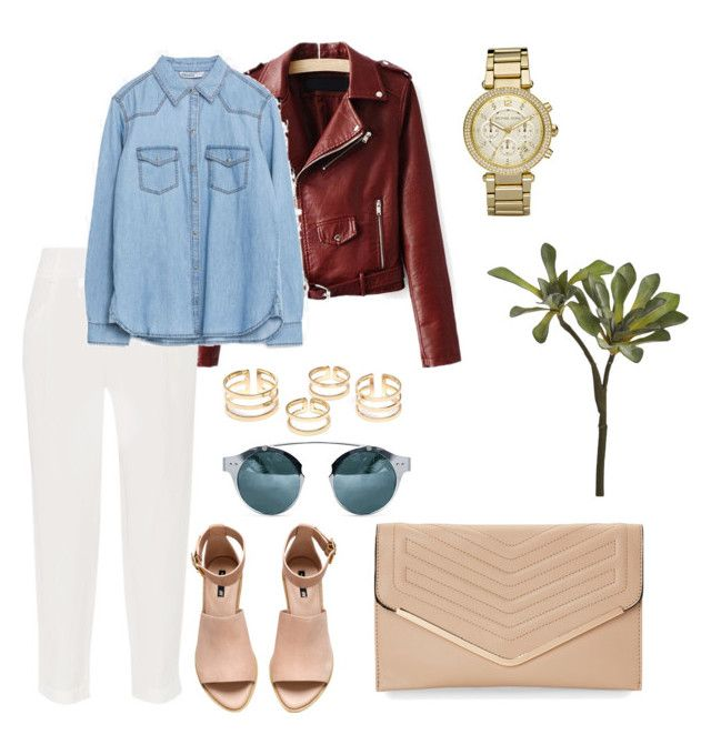 """""""n36"""" by owlfleischer on Polyvore featuring Alice + Olivia, H&M, Michael Kors, Sasha and CB2"""