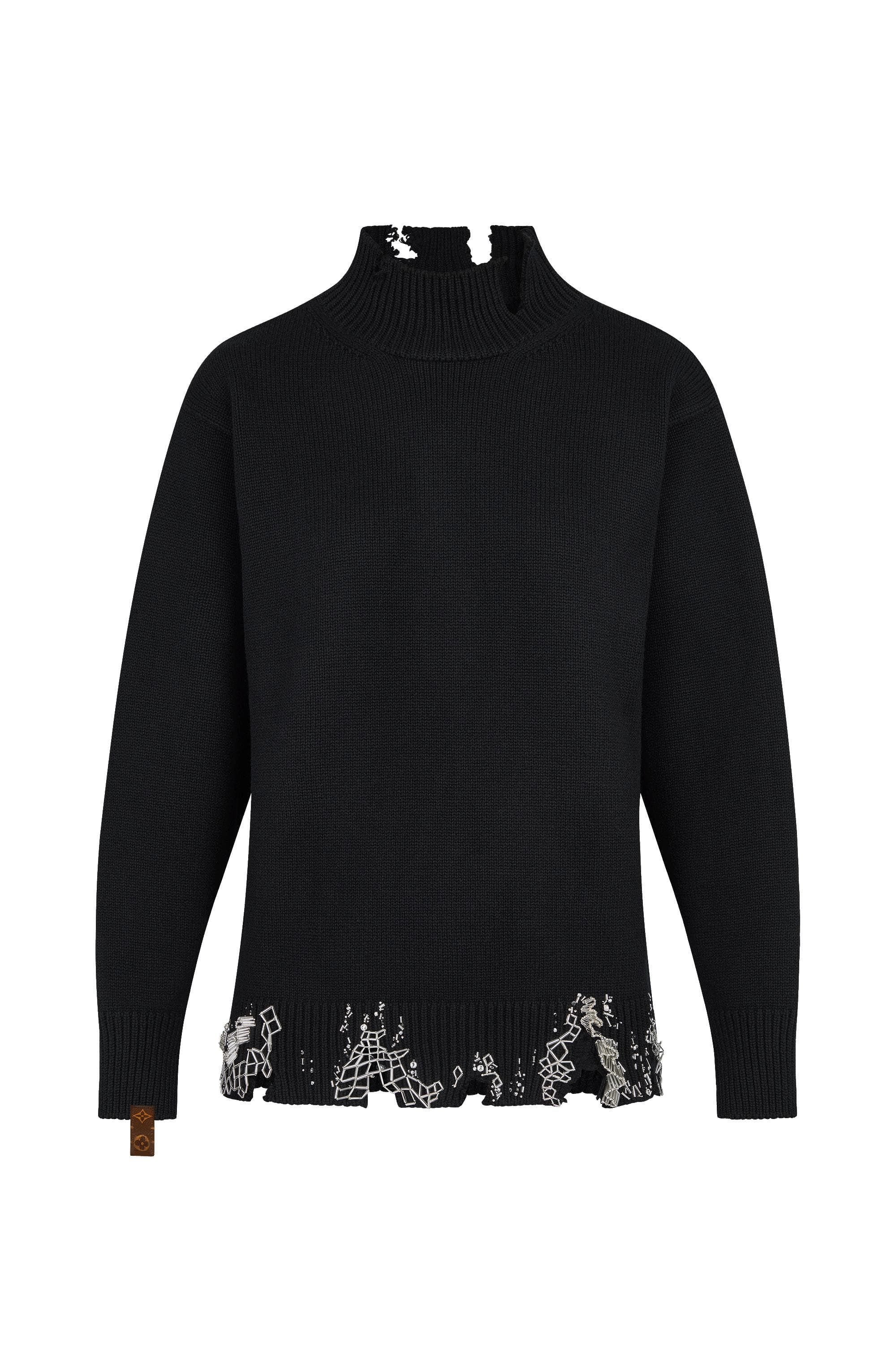 dee5ca007e Embroidered Knitted Pullover - Ready-to-Wear   LOUIS VUITTON   Áo ...