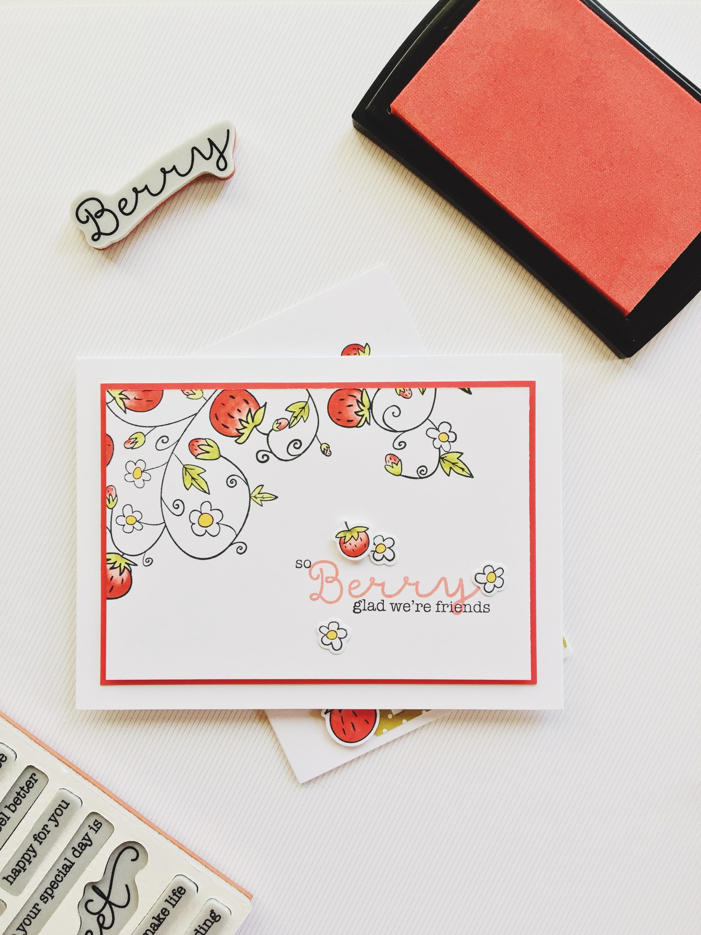 Have similar berry patch stamp