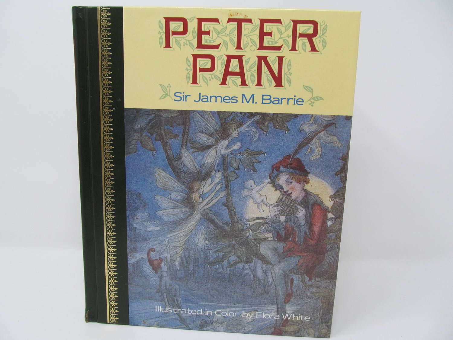 Peter Pan by Sir James M. Barrie  by CellarDeals on Etsy