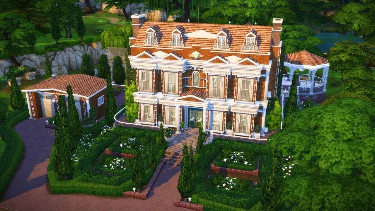 Shoreview House Base Game Only The Sims 4 Speed Build