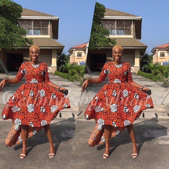 Unique Ankara Styles For Beautiful African Woman