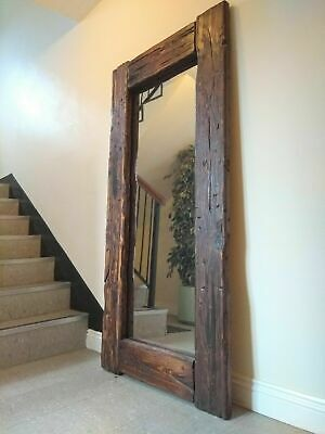 Gorgeous Large Full Length Rustic Reclaimed Wood F